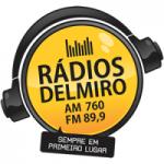 Logo da emissora Rádio Delmiro 760 AM