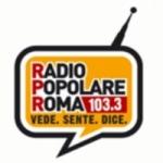Logo da emissora Popolare Roma 103.3 FM
