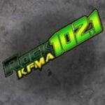 Logo da emissora Radio KFMA 102,1 FM