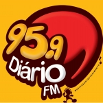 Logo da emissora Rádio Diário 95.9 FM