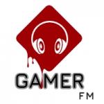Logo da emissora Rádio Gamer FM