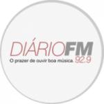 Logo da emissora Rádio Diário 92.9 FM