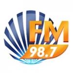 Logo da emissora Rádio Diário 98.7 FM