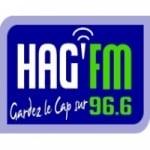 Logo da emissora Hag 96.6 FM