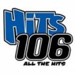 Logo da emissora KFSZ 106.1 FM Hits
