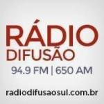 Logo da emissora Rádio Difusão 94.9 FM