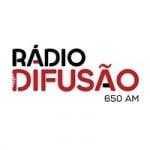 Logo da emissora Rádio Difusão 650 AM
