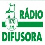 Logo da emissora Rádio Difusora 1170 AM