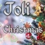Logo da emissora Rádio Joli Christmas