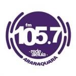 Logo da emissora Rádio Aleluia 105.7 FM