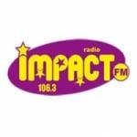 Logo da emissora Impact 106.3 FM