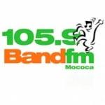 Logo da emissora Rádio Band 105.9 FM