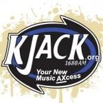Logo da emissora Radio KJACK 1680 AM 107.1 FM
