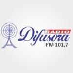 Logo da emissora Rádio Difusora 101.7 FM
