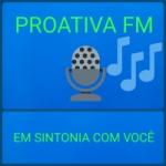 Logo da emissora Rádio Proativa FM