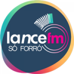 Logo da emissora Rádio Lance FM Só Forró