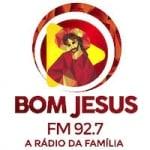 Logo da emissora Rádio Bom Jesus 92.7 FM