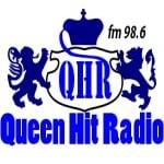 Logo da emissora Queen Hit 98.6 FM