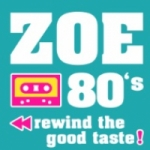 Logo da emissora Radio Zoe 80's