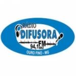 Logo da emissora Rádio Difusora 94.1 FM
