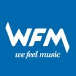 Logo da emissora Radio WFM 105.4