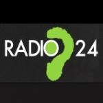 Logo da emissora Radio 24 97.3 FM