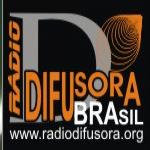 Logo da emissora Rádio Difusora Brasil 97.7 FM