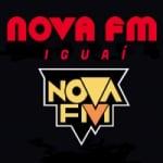 Logo da emissora Rádio Nova FM Iguai