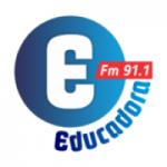Logo da emissora Rádio Educadora 91.1 FM