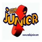 Logo da emissora Junior 96 FM