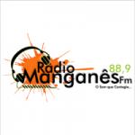 Logo da emissora Rádio Manganês FM