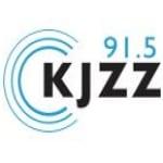 Logo da emissora KJZZ 91.5 FM