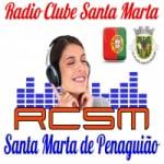 Logo da emissora Rádio Clube Santa Marta