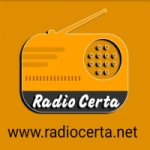 Logo da emissora Rádio Certa