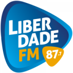 Logo da emissora Rádio Liberdade 87.7 FM