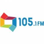 Logo da emissora Rádio Difusora 105.1 FM