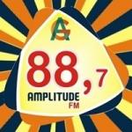 Logo da emissora Rádio Amplitude 88.7 FM