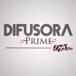Logo da emissora Rádio Difusora Prime 97.5 FM