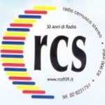 Logo da emissora RCS Cernusco Stereo 93.9 FM