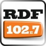 Logo da emissora RDF 102.7 FM