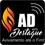 Logo da emissora AD Em Destaque