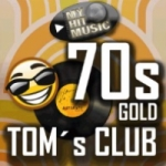 Logo da emissora Radio Myhitmusic Tom's Club 70's