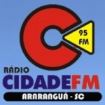 Logo da emissora Rádio Cidade FM Aru