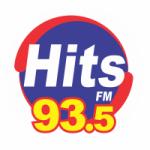 Logo da emissora Rádio Hits 93.5 FM