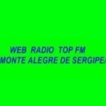 Logo da emissora Radio Web Top FM