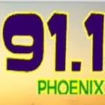 Logo da emissora KNOG 91.1 FM