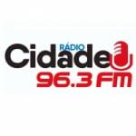 Logo da emissora Rádio Cidade 96.3 FM