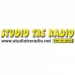 Logo da emissora Studio TRE 91.3 FM