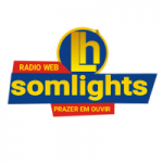 Logo da emissora Rádio Som Lights