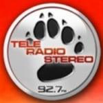 Logo da emissora Teleradio Stereo 92.7 FM